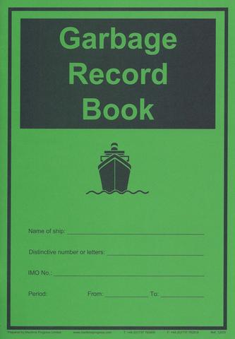 Marine fuel oil sulphur record book